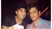 Shah Rukh Khan pays Ranbir Kapoor Rs. 5000 for suggesting the title Jab Harry Met Sejal