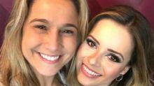 Fernanda Gentil revela se trocaria namorada por Sandy