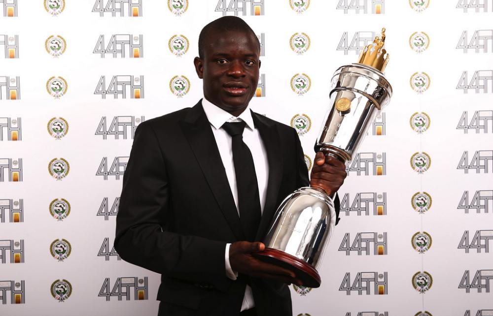Premier League: N'Golo Kanté sacré meilleur joueur de la saison