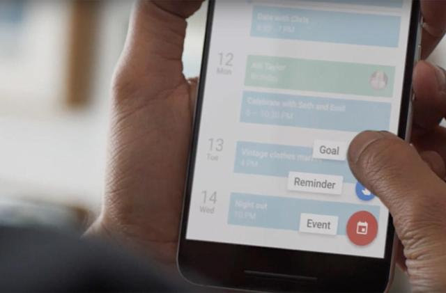 Google Calendar wants you to achieve your goals