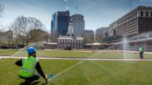Philadelphia's Historic Independence Mall Re-Opens: First Phase of Landscaping Renovations Completed by BrightView