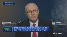 Redrow has no financial incentive to build slowly, says C...