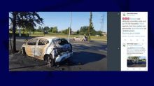 Nord: le parking de la maison d'arrêt de Sequedin forcé à la voiture bélier, 7 véhicules incendiés