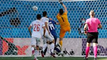 Another embarrassing Euro 2020 own goal: Keeper slaps ball into own net
