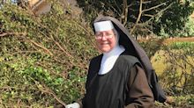 Chainsaw-Wielding Florida Nun Takes Matters Into Her Own Hands to Clear Hurricane Irma Debris