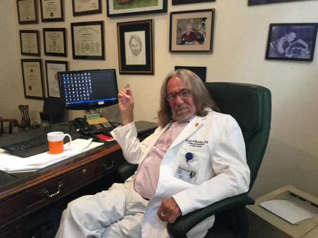Dr. Harold Bornstein in his office. (Photo: NBC News)