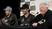 Canada's James Hinchcliffe, Paul Tracy team up in IndyCar booth for Iowa races