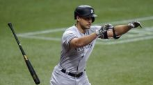 Yankees place DH Giancarlo Stanton on 10-day injured list with left quad strain