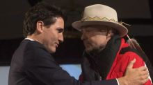 Tearful Trudeau gives brief statement on Gord Downie