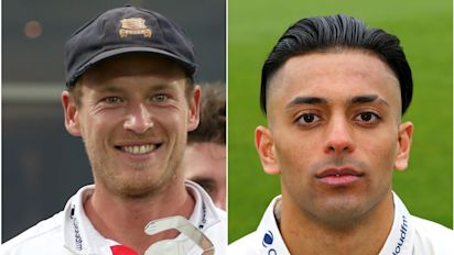 Tom Westley sorry after alcohol poured over Feroze Khushi in Lord's celebrations