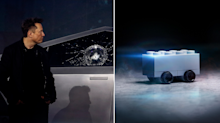 Lego mocks Tesla's Cybertruck window test with its own 'shatterproof' product
