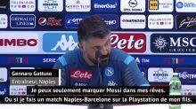 """8es - Gattuso : """"Je peux seulement marquer Messi sur Playstation"""""""