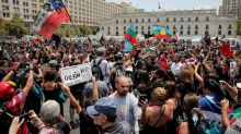 Chileans march against police repression of social unrest