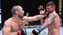 As quick with a quip as he is with his hands, Sean Strickland's toughness shows in UFC return
