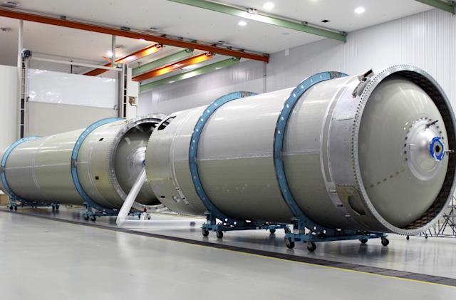 Boeing builds towards its first space taxi test