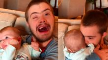 Dad explains why this image of his brother and daughter is so important