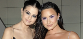 Selena Gomez and Demi Lovato. (Donato Sardella/Getty Images/InStyle)