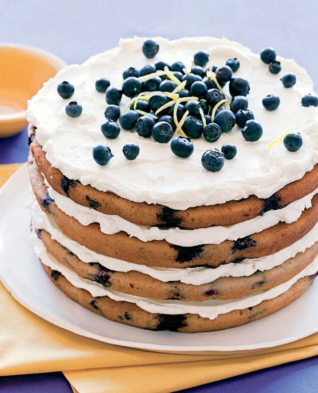 Banana And Blueberry Cake Nz