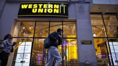 Western Union isn't threatened by bitcoin