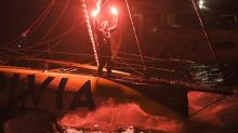 Dalin first to finish Vendee Globe round-the-world race, but not yet winner