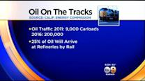 California To See Surge Of Oil Transported On Trains