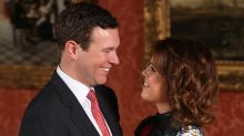 Princess Eugenie Flashes Pink Diamond Ring in Official Engagement Portraits With James Brooksbank