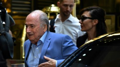 Blatter arrives in Russia for World Cup despite FIFA ban