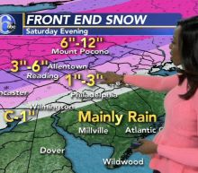 AccuWeather: Snow moves out, Bigger Storm This Weekend