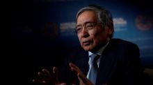 Bank of Japan's Kuroda calls for mix of steps to boost economic growth