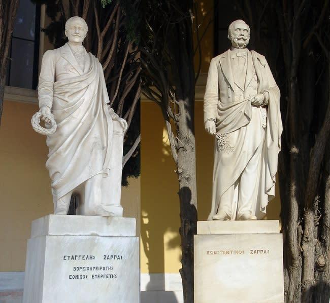 Evangelos y Konstantinos Zappas, los millonarios que lograron recuperar los JJOO de la Antigua Grecia - Yahoo Noticias España