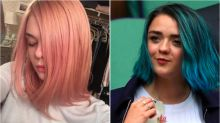 "Da Maisie Williams a Elle Fanning, le teen star puntano sui capelli ""Pantone"""