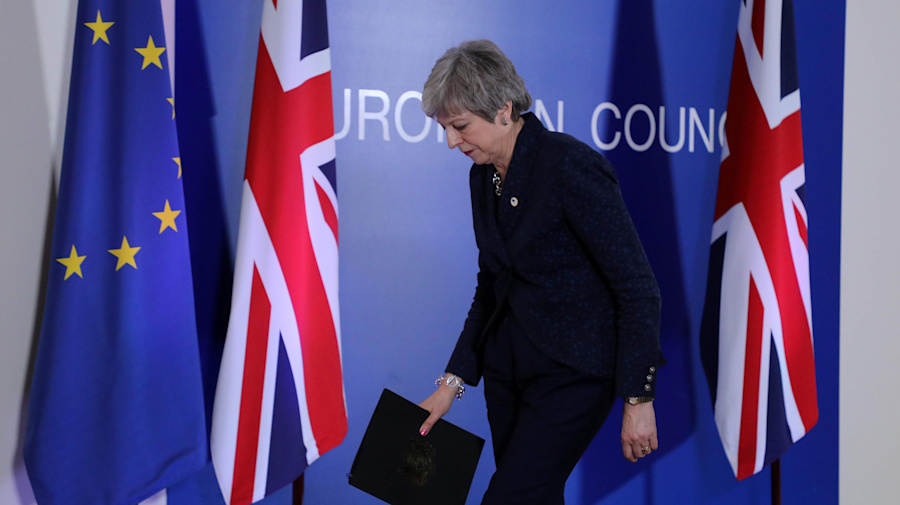 May's appeal falls flat as EU seizes control of Brexit date