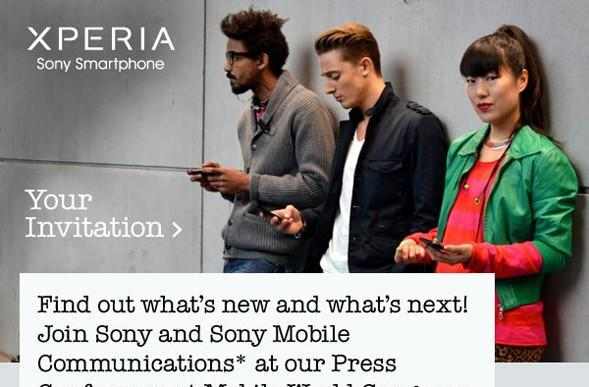 Join us for Sony's Mobile World Congress 2012 press event at noon EST