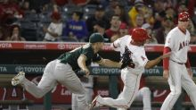 A's pitcher Kendall Graveman pulls off rare unassisted double play