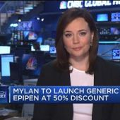 Here's how drugmaker Mylan plans to cash in on the generic version of EpiPen