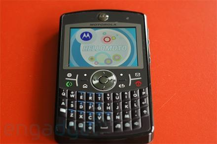 Hands-on with a Motorola Q9 in the wild