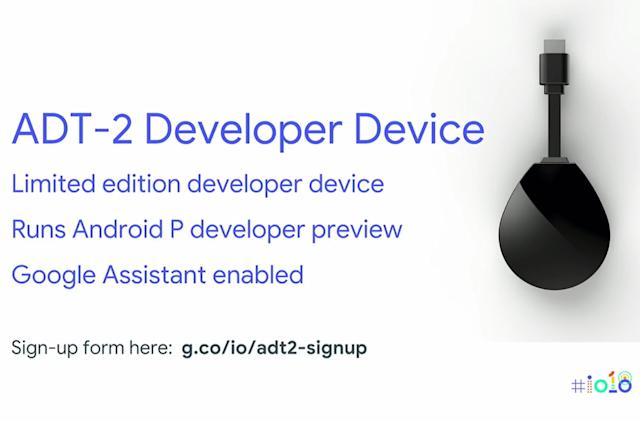 Google's 4K Android TV dongle is real -- but it's for developers