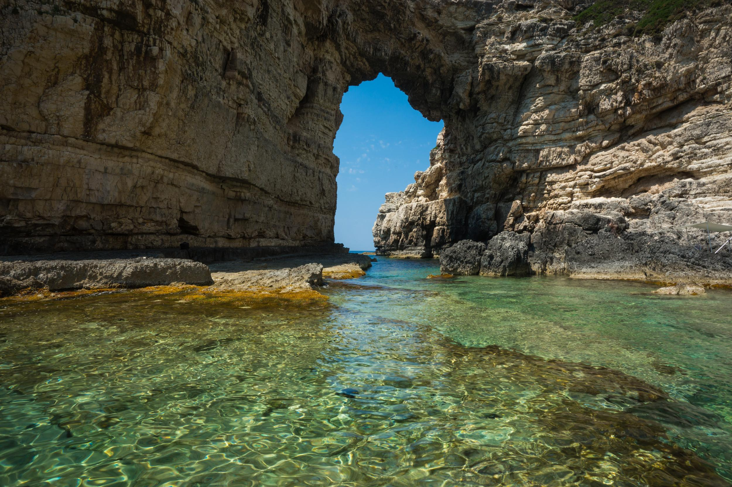 """<p>One of the Ionian's most idyllic islands, Paxi, offers fjord-shaped beaches, underwater caves and green hills for a peaceful holiday in Greece. According to legend, the island would be the southernmost tip of <a href=""""http://travel.aol.co.uk/guides/corfu/"""" target=""""_blank"""">Corfu</a> if Poseidon, the God of the Sea, had not broken it off with his trident. Paxi has three small seaside villages tucked away in pine and olive trees: Loggos, Lakka and Ozias. There are countless beaches offering a starting point for scuba divers to explore the underwater caves and shipwrecks, and Paxi's other must-dos include the Olive Museum and exploring the islets.</p>"""