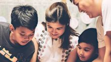 Camille Prats pregnant with a daughter