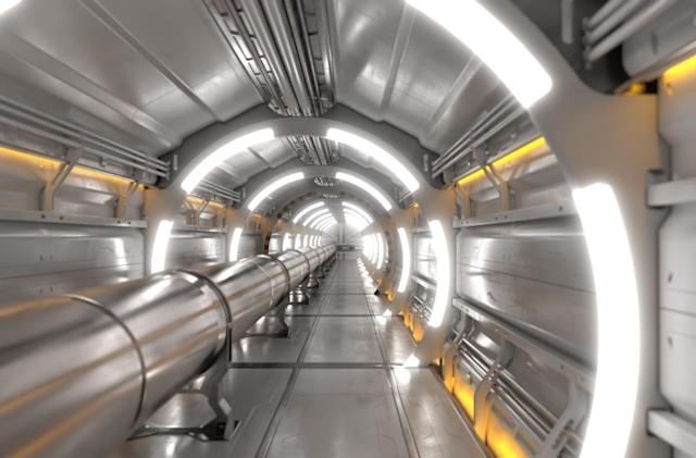 CERN plans to build a collider four times bigger than the LHC