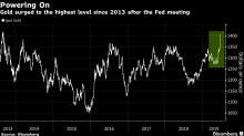 BlackRock Sees Gold Ending Year Higher on Fed's Dovish Pivot