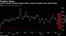 China FX, Bond Volumes Sink With Virus Keeping Traders Home