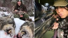 Woman speaks out after confronting hunting photos spark anger