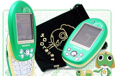 Gigabyte's Keroro phone for youngsters