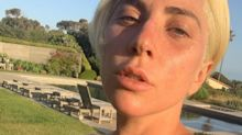 'Natural beauty': Lady Gaga goes makeup-free and wears $84 glittery pink sports bra in Instagram selfie