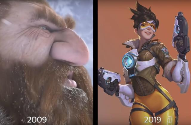 The 10-year challenge: Video game edition