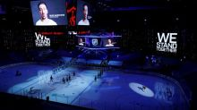 NHL resumes play after postponements aimed at highlighting social issues