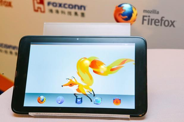 Mozilla inks deal with Foxconn to co-develop Firefox OS devices, shows off its first-ever tablet