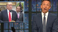 Seth Meyers Pinpoints 'Damning' Moment Trump Gave Himself Away On 'Sharpiegate'