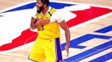 Basket - NBA - NBA : Anthony Davis (LA Lakers), touché au talon, rassurant en vue du match 6 de la finale
